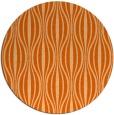 rug #237261   round red-orange retro rug
