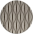 rug #237297 | round brown retro rug