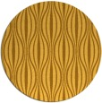 rug #237305   round yellow retro rug