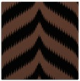 rug #237721 | square brown graphic rug