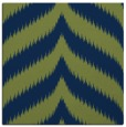rug #237741 | square blue graphic rug