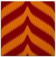 rug #237893 | square orange graphic rug