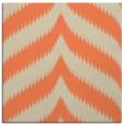 rug #237901 | square orange stripes rug