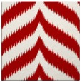 rug #237945 | square red graphic rug