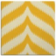 rug #237993 | square yellow graphic rug