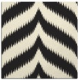 rug #238013 | square black graphic rug