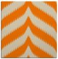 rug #238021 | square orange graphic rug