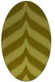 rug #238119   oval stripes rug
