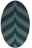 rug #238129 | oval stripes rug