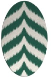 rug #238190 | oval stripes rug