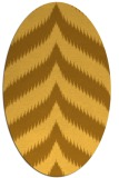 rug #238362 | oval stripes rug