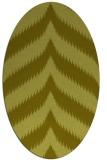 rug #238377 | oval light-green rug