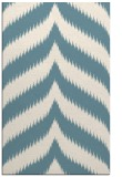 rug #238433 |  blue-green graphic rug