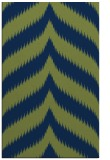 rug #238445 |  blue stripes rug