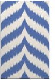 rug #238449 |  blue stripes rug