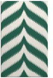 rug #238541 |  green stripes rug