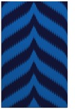 rug #238577 |  blue graphic rug