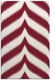 rug #238621    pink stripes rug