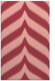rug #238625    pink stripes rug