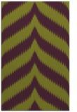 rug #238637 |  purple stripes rug