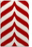 rug #238649    red stripes rug