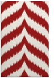 rug #238657 |  red graphic rug