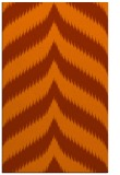 rug #238665 |  red-orange graphic rug