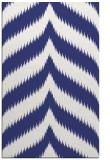 rug #238689 |  white stripes rug