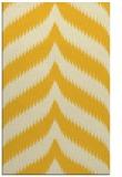 rug #238697 |  yellow stripes rug