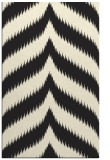 rug #238717 |  black stripes rug