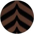 rug #238777 | round brown rug
