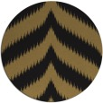 rug #238781 | round mid-brown popular rug