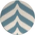 rug #238785   round white stripes rug