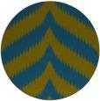 rug #238821 | round green graphic rug