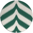 rug #238893 | round green graphic rug