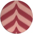 rug #238977 | round pink graphic rug