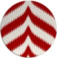 rug #239001 | round red graphic rug