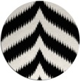 rug #239033 | round black graphic rug