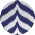 rug #239041   round white stripes rug