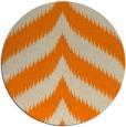 rug #239077 | round beige rug