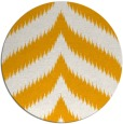 rug #239097 | round light-orange graphic rug