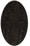 rug #241597 | oval mid-brown natural rug
