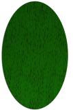 rug #241645   oval green rug