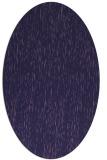 rug #241673   oval purple natural rug