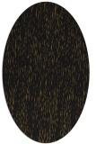 rug #241693 | oval black natural rug