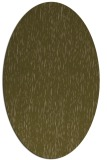 rug #241697 | oval mid-brown rug