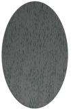 rug #241705 | oval blue-green rug