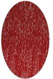 rug #241825 | oval red natural rug