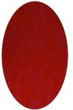 rug #241829   oval red natural rug