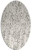 rug #241849 | oval white natural rug